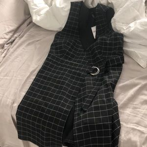 Plaid dress from Forever 21